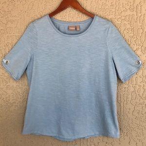 Chico's, short sleeve t-shirt.